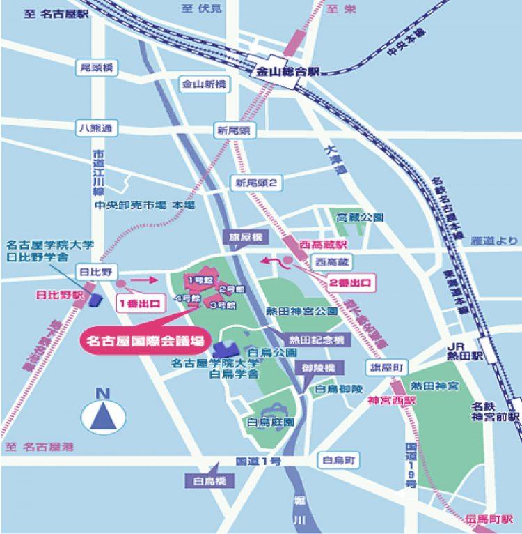 2014_愛知支部総会の地図