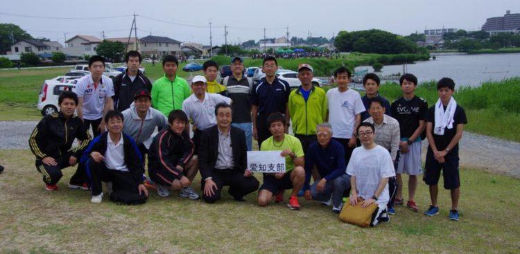 2016年静岡大学浜松キャンパス 新入生歓迎駅伝大会1