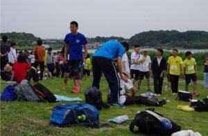 2016年静岡大学浜松キャンパス 新入生歓迎駅伝大会3